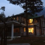 Cottage night view