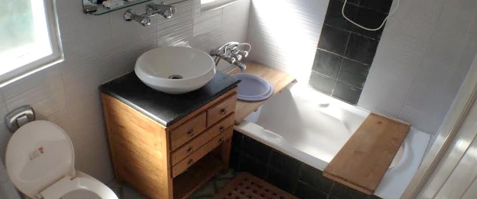 Kasol Cottage Bathroom